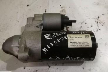 Motor de Arranque Mercedes Benz E220 2012 Caixa Automática Ref- A651 906 43 00